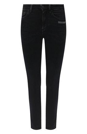 Женские джинсы OFF-WHITE черного цвета, арт. 0WYA003E20DEN0011000   Фото 1