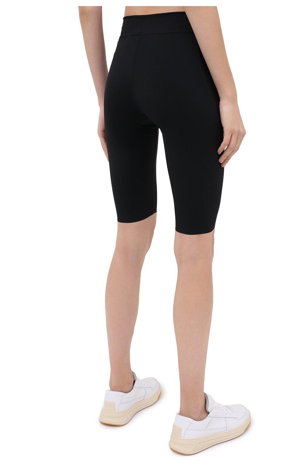 Женские шорты OFF-WHITE черного цвета, арт. 0WVH011E20JER0011001   Фото 4