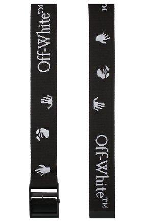 Женский текстильный ремень industrial OFF-WHITE черного цвета, арт. 0WRB035E20FAB0011001 | Фото 2