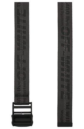 Женский текстильный ремень industrial OFF-WHITE черного цвета, арт. 0WRB009E20FAB0011010 | Фото 2