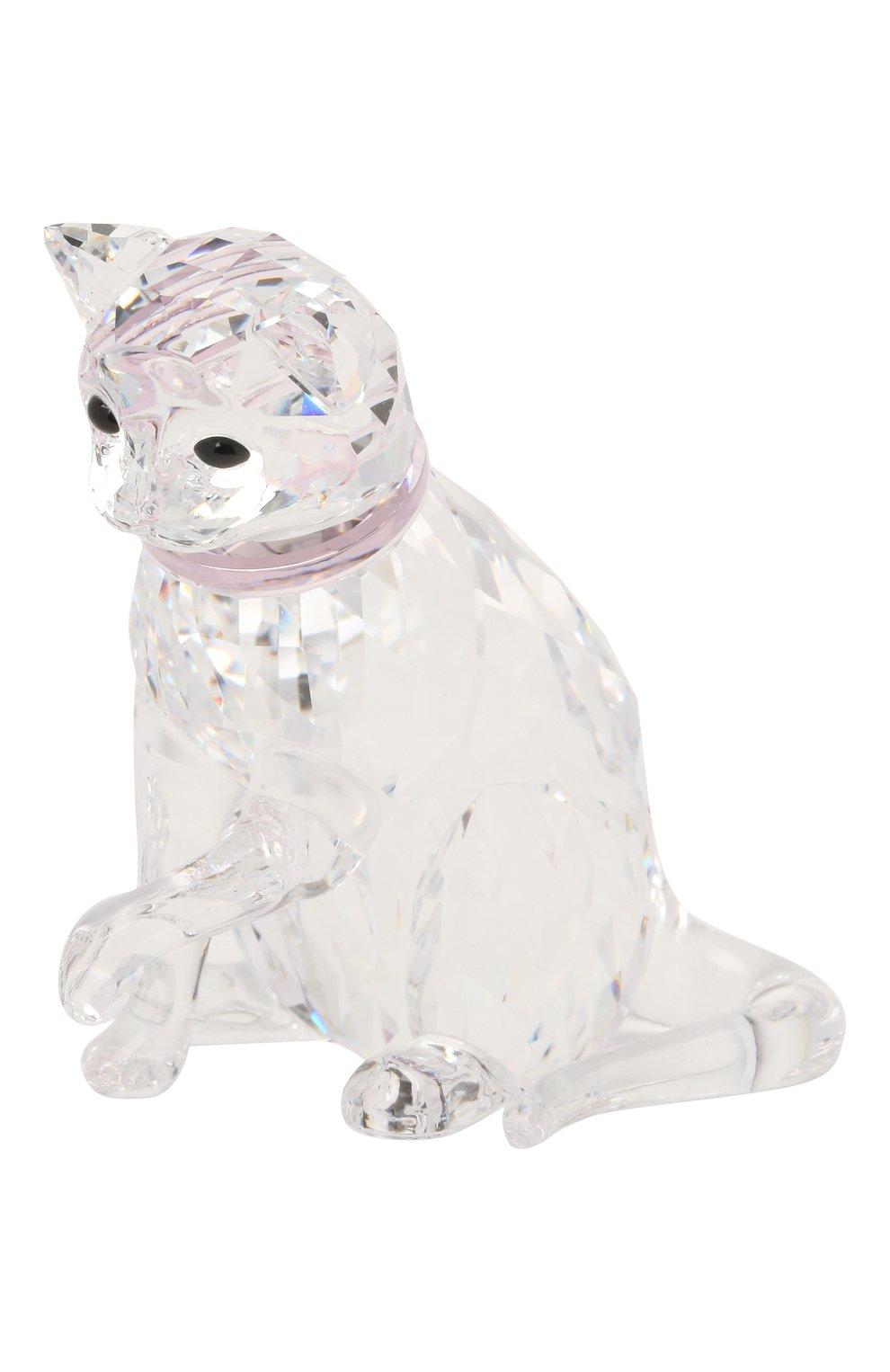 Мужского скульптура cat mother SWAROVSKI прозрачного цвета, арт. 5465836   Фото 1