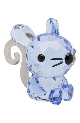 Мужского скульптура charming rat SWAROVSKI голубого цвета, арт. 5302558   Фото 1