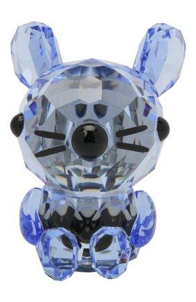 Мужского скульптура charming rat SWAROVSKI голубого цвета, арт. 5302558   Фото 2