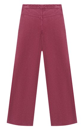Детские хлопковые брюки GUCCI розового цвета, арт. 621815/XDBDH | Фото 2