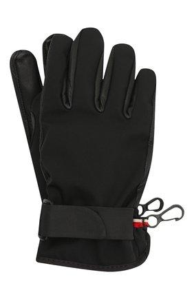 Детские перчатки MONCLER черного цвета, арт. F2-954-3A701-00-53873 | Фото 1