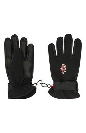 Детские перчатки MONCLER черного цвета, арт. F2-954-3A701-00-53873 | Фото 2