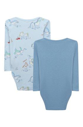 Детское комплект из двух боди STELLA MCCARTNEY голубого цвета, арт. 601488/SPJ10 | Фото 2