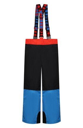 Детские утепленные брюки STELLA MCCARTNEY разноцветного цвета, арт. 601437/SPK37 | Фото 2