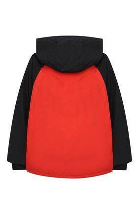 Детского куртка с капюшоном STELLA MCCARTNEY разноцветного цвета, арт. 601436/SPK37 | Фото 2