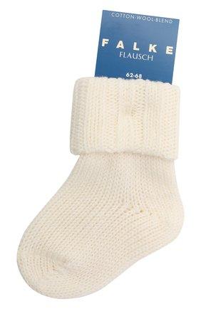 Детские хлопковые носки FALKE бежевого цвета, арт. 10408. | Фото 1