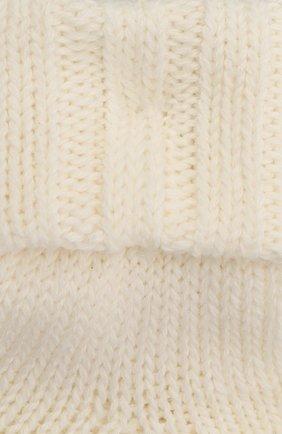 Детские хлопковые носки FALKE бежевого цвета, арт. 10408. | Фото 2