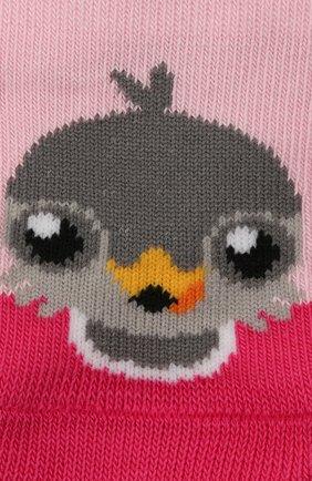 Детские носки FALKE розового цвета, арт. 12939. | Фото 2
