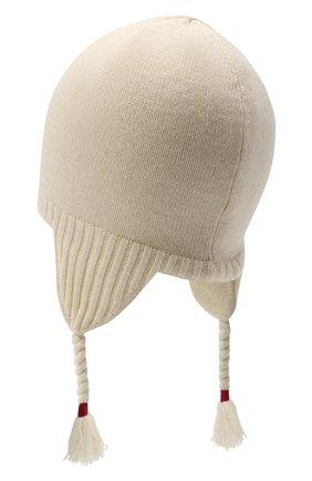 Детского шерстяная шапка RALPH LAUREN бежевого цвета, арт. 312761685 | Фото 2