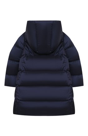 Детское пуховое пальто POLO RALPH LAUREN синего цвета, арт. 312795699 | Фото 2