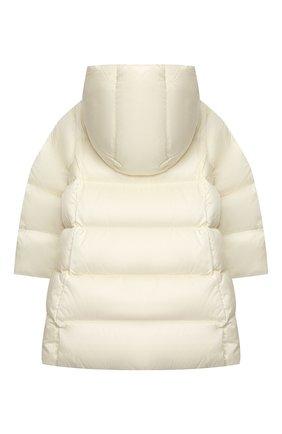 Детское пуховое пальто POLO RALPH LAUREN белого цвета, арт. 312795699 | Фото 2