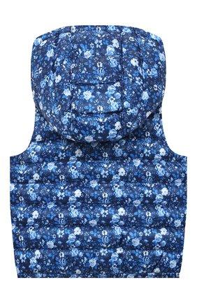 Детский утепленный жилет POLO RALPH LAUREN синего цвета, арт. 312798651 | Фото 2