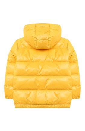 Детский пуховая куртка RALPH LAUREN желтого цвета, арт. 321795538 | Фото 2