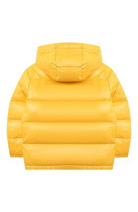 Детский пуховая парка POLO RALPH LAUREN желтого цвета, арт. 322795538 | Фото 2