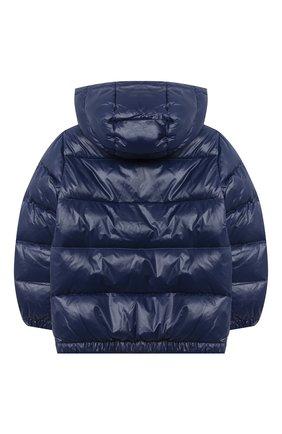 Детский пуховая куртка POLO RALPH LAUREN темно-синего цвета, арт. 323795538 | Фото 2