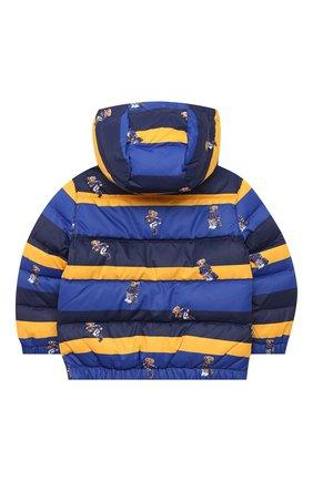 Детский пуховая куртка POLO RALPH LAUREN разноцветного цвета, арт. 323797761 | Фото 2