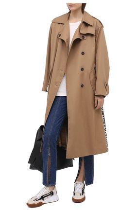 Женские текстильные кроссовки STELLA MCCARTNEY разноцветного цвета, арт. 800212/N0116 | Фото 2