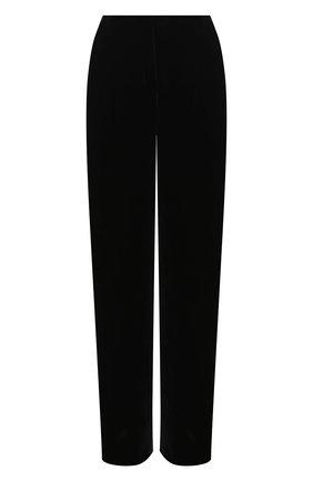 Женские брюки из вискозы и шелка ZUHAIR MURAD черного цвета, арт. TRP20340/VESB003 | Фото 1