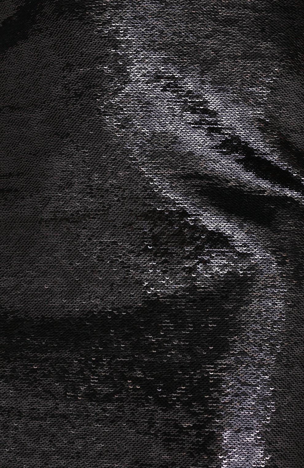 Женская юбка ZUHAIR MURAD черного цвета, арт. SKP20311/EMSE004 | Фото 5 (Женское Кросс-КТ: Юбка-карандаш, Юбка-одежда; Материал внешний: Синтетический материал; Длина Ж (юбки, платья, шорты): Миди; Стили: Романтичный; Материал подклада: Купро)