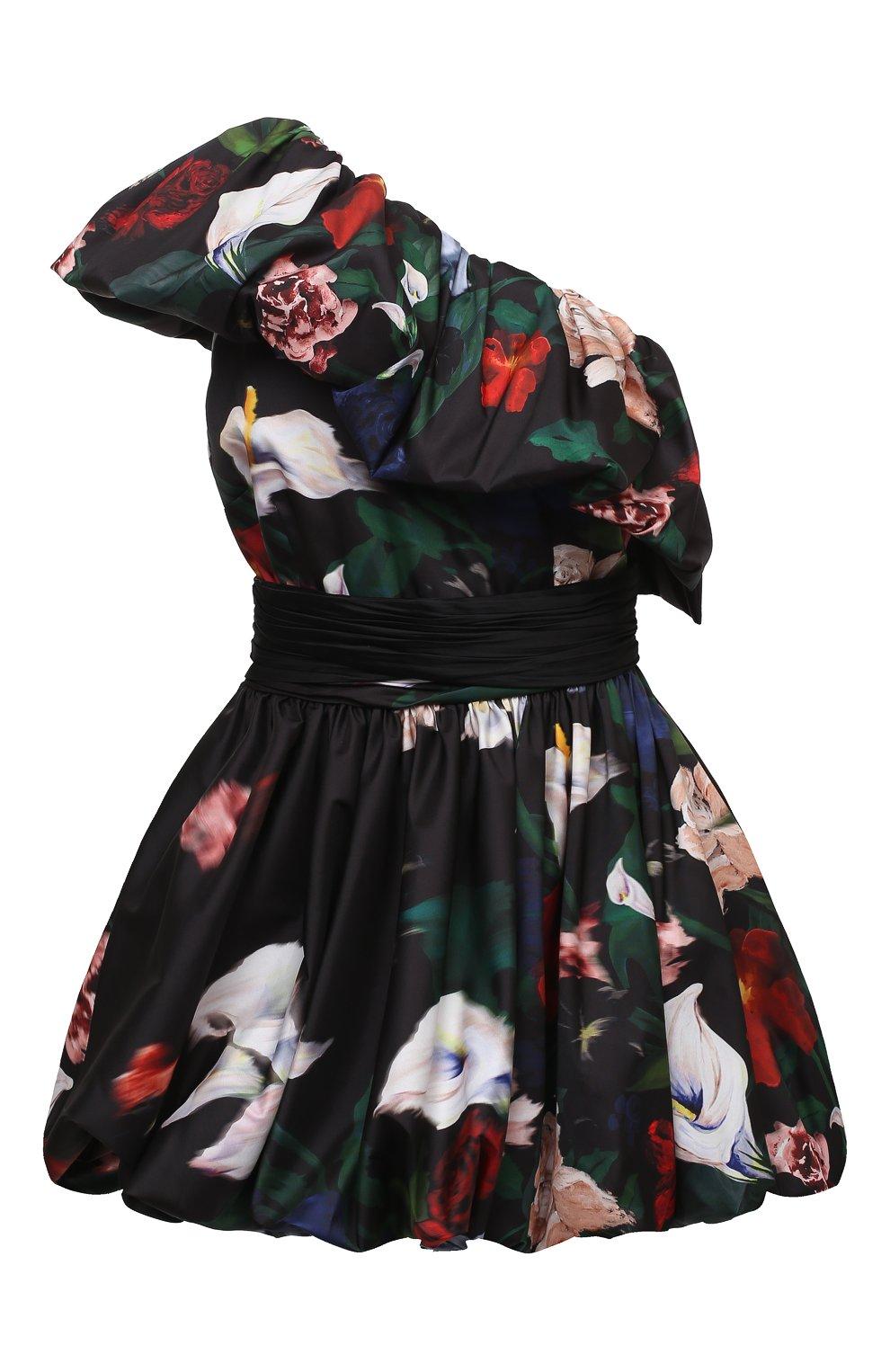 Женское платье ZUHAIR MURAD разноцветного цвета, арт. DRP20313/FAPL002   Фото 1 (Случай: Коктейльный; Длина Ж (юбки, платья, шорты): Мини; Рукава: Короткие, С открытыми плечами, Без рукавов; Материал внешний: Синтетический материал; Материал подклада: Синтетический материал; Стили: Романтичный; Женское Кросс-КТ: Платье-одежда)