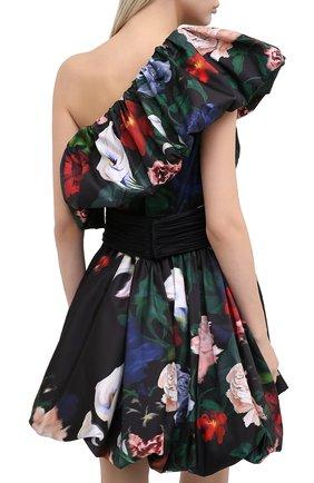 Женское платье ZUHAIR MURAD разноцветного цвета, арт. DRP20313/FAPL002   Фото 4 (Случай: Коктейльный; Длина Ж (юбки, платья, шорты): Мини; Рукава: Короткие, С открытыми плечами, Без рукавов; Материал внешний: Синтетический материал; Материал подклада: Синтетический материал; Стили: Романтичный; Женское Кросс-КТ: Платье-одежда)