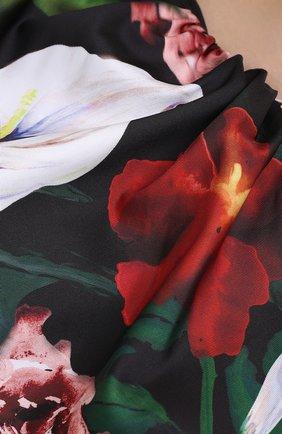 Женское платье ZUHAIR MURAD разноцветного цвета, арт. DRP20313/FAPL002   Фото 5 (Случай: Коктейльный; Длина Ж (юбки, платья, шорты): Мини; Рукава: Короткие, С открытыми плечами, Без рукавов; Материал внешний: Синтетический материал; Материал подклада: Синтетический материал; Стили: Романтичный; Женское Кросс-КТ: Платье-одежда)
