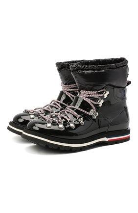 Женские ботинки inaya MONCLER черного цвета, арт. F2-09B-4G708-00-02SFD | Фото 1