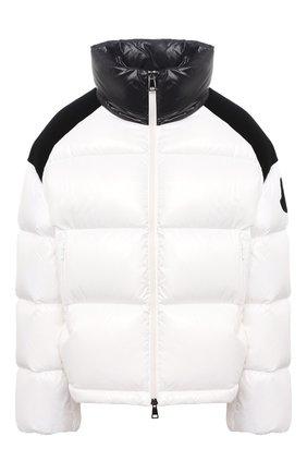 Женский пуховая куртка MONCLER белого цвета, арт. F2-093-1A52B-00-C0232 | Фото 1