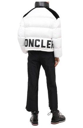 Женский пуховая куртка MONCLER белого цвета, арт. F2-093-1A52B-00-C0232 | Фото 2