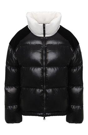 Женский пуховая куртка MONCLER черного цвета, арт. F2-093-1A52B-00-C0232 | Фото 1