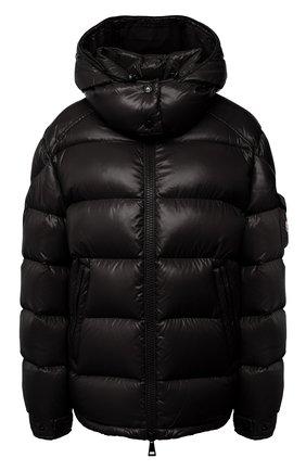 Женский пуховая куртка MONCLER черного цвета, арт. F2-093-1A576-00-C0064 | Фото 1