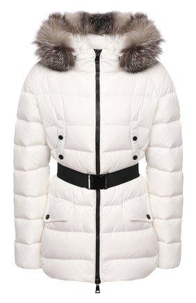 Женский пуховая куртка MONCLER белого цвета, арт. F2-093-1B540-02-C0059 | Фото 1