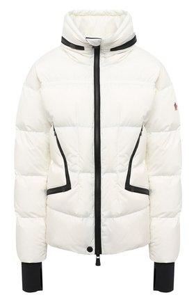Женский пуховая куртка MONCLER белого цвета, арт. F2-098-1A526-00-5399E | Фото 1