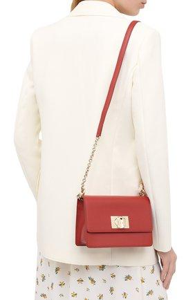 Женская сумка furla 1927 mini FURLA красного цвета, арт. BAFKACO/ARE000   Фото 2