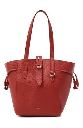 Женский сумка-тоут net medium FURLA красного цвета, арт. BZT0FUA/HSF000 | Фото 1