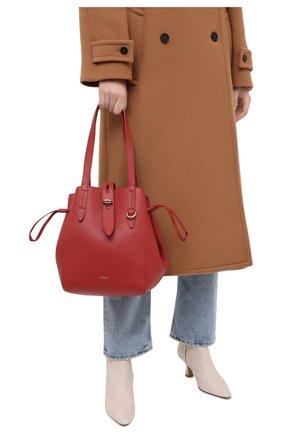 Женский сумка-тоут net medium FURLA красного цвета, арт. BZT0FUA/HSF000 | Фото 2