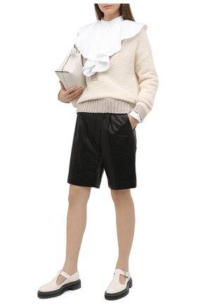 Женский пуловер TELA кремвого цвета, арт. B2 2393 07 T135 | Фото 2