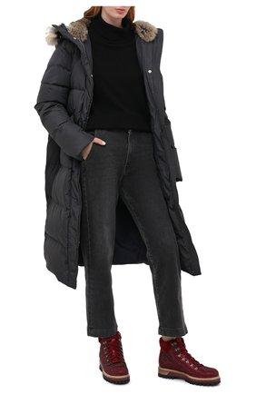 Женские кожаные ботинки LE SILLA бордового цвета, арт. 7510M040M1MMBUR | Фото 2