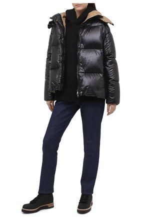 Женские текстильные ботинки LE SILLA черного цвета, арт. 7535R040M1PPTYR | Фото 2