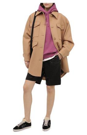 Женские кожаные кеды steven-d PREMIATA  цвета, арт. STEVEND/VAR5083   Фото 2