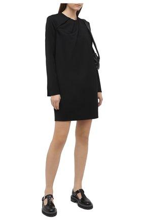 Женское платье VICTORIA, VICTORIA BECKHAM черного цвета, арт. 2420WDR001985B | Фото 2