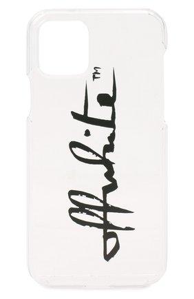 Мужской чехол для iphone 11 pro OFF-WHITE белого цвета, арт. 0WPA012E20PLA0117910 | Фото 1