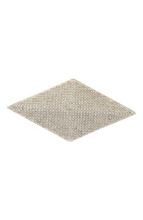Женская брошь ALEXANDRE VAUTHIER серебряного цвета, арт. 204BR00CH1350 ACC04   Фото 1