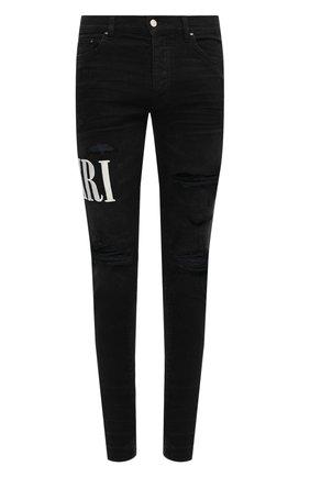 Мужские джинсы AMIRI черного цвета, арт. F0M01161SD | Фото 1