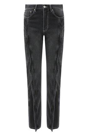Мужские джинсы Y/PROJECT черного цвета, арт. JEAN27-S19 D06 | Фото 1