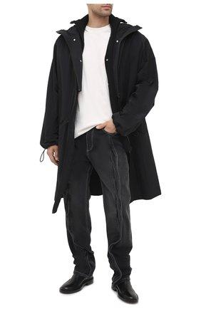 Мужские джинсы Y/PROJECT черного цвета, арт. JEAN27-S19 D06 | Фото 2